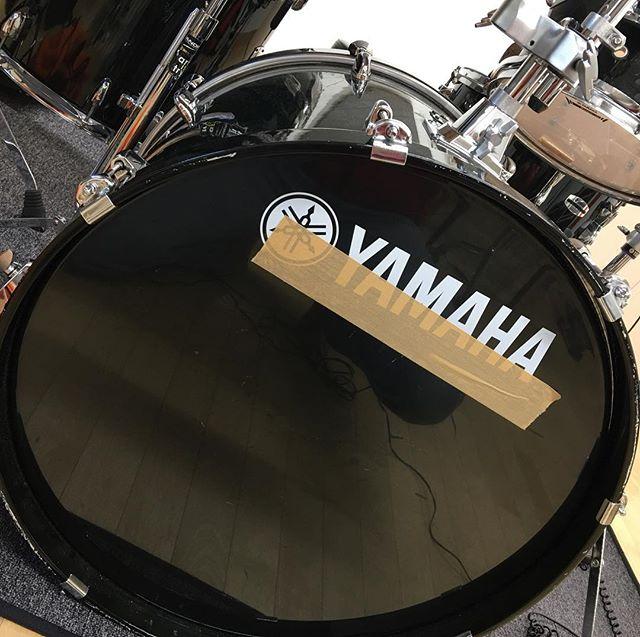 #穴なし #ノーミュート の #バスドラム を攻略ちう。#ヤマハ #ドラム #バスドラ #ステージカスタム #ステージカスタムバーチ