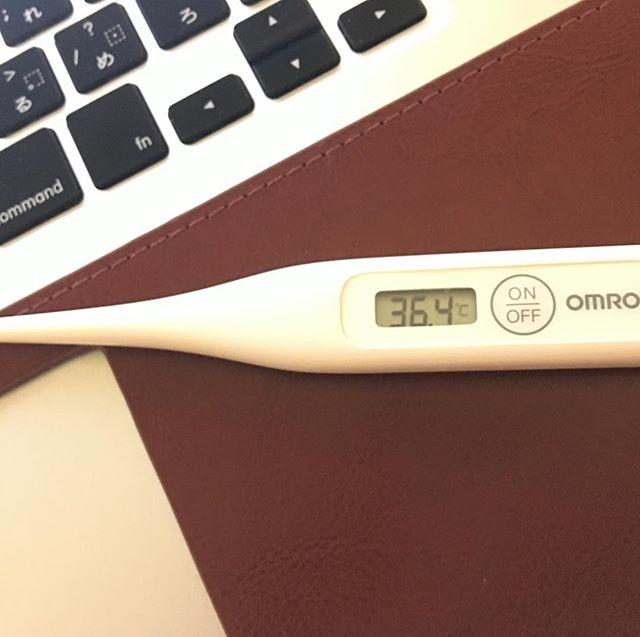 さがってキタァァァー!!!あ、でもまだ #寒気 が。。。 #インフルエンザ #風邪 #平熱 #まだ身体中が痛い #おなかすいた 。。。