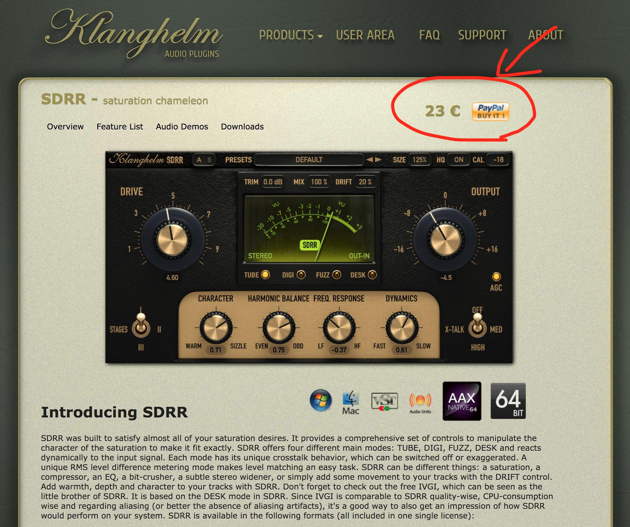 Klanghelm SDRR 画像