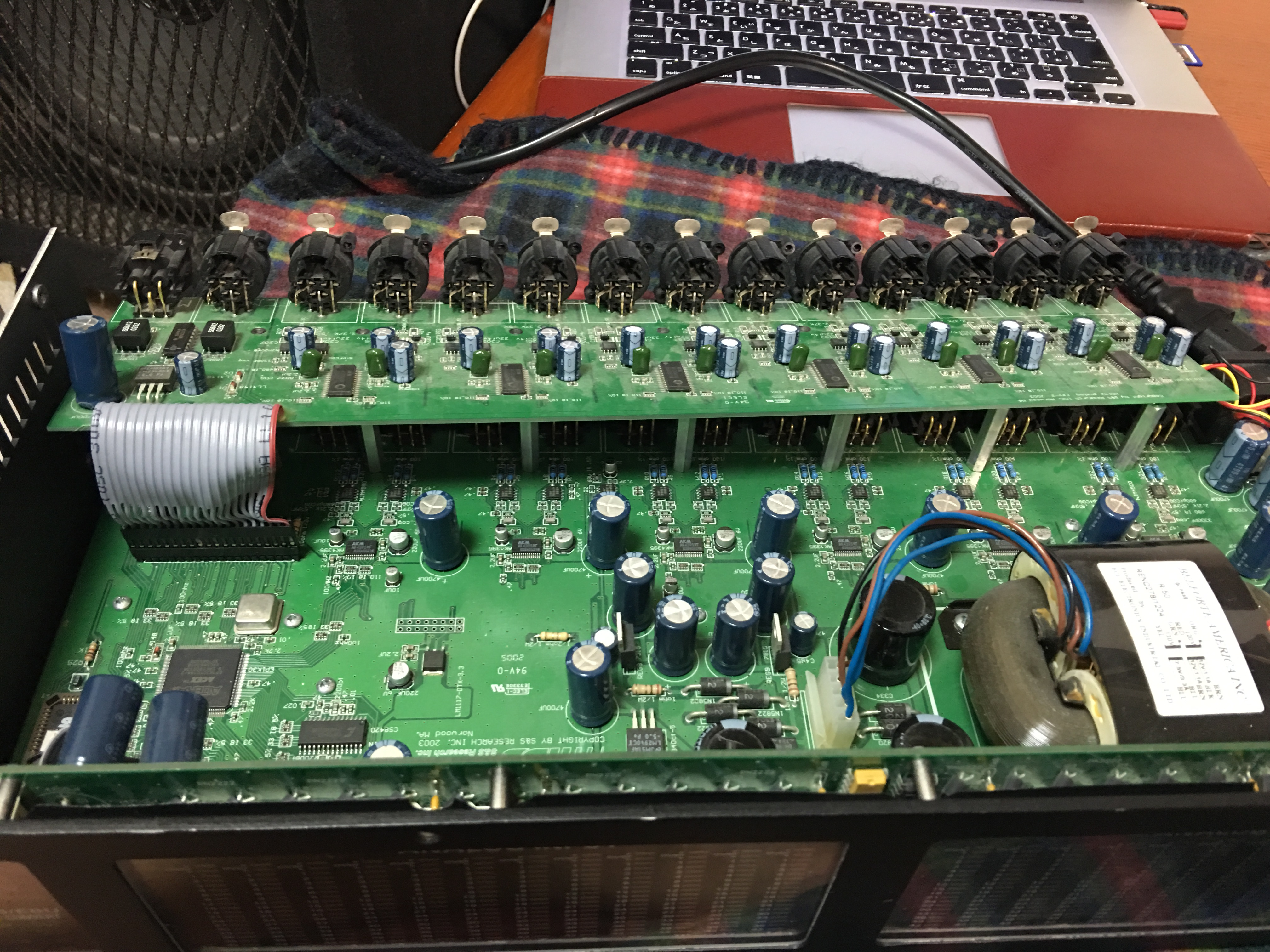 MOTU HD192 Fan換装|画像