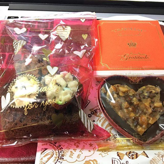 #知也塾 の生徒さんから #バレンタイン #チョコレート 戴きました!!!ありがとうございますー!!! #パティシエさんの手作りあり#オッサンウレシイ#たべるのもったいない #バレンタイン2017