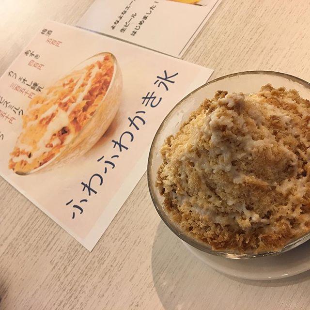 #ヒソミネ さんで #カキ氷 ?!