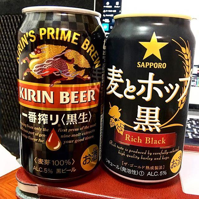 #一番しぼり #麦とホップ !!!#黒ビール 、飲みたかたー!!!涙#断酒明け