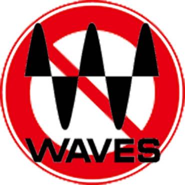 Waves|使わない ロゴ