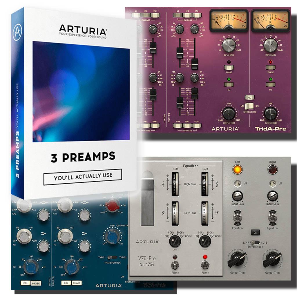 Arturia 3Preamps|バンドル 画像