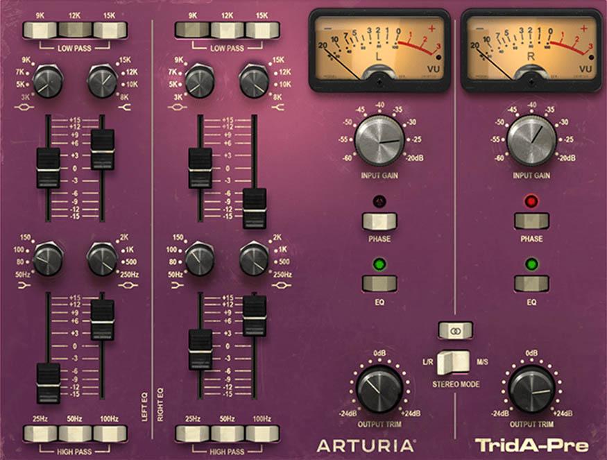 Arturia 3Preamps|TridA-Pre 画像