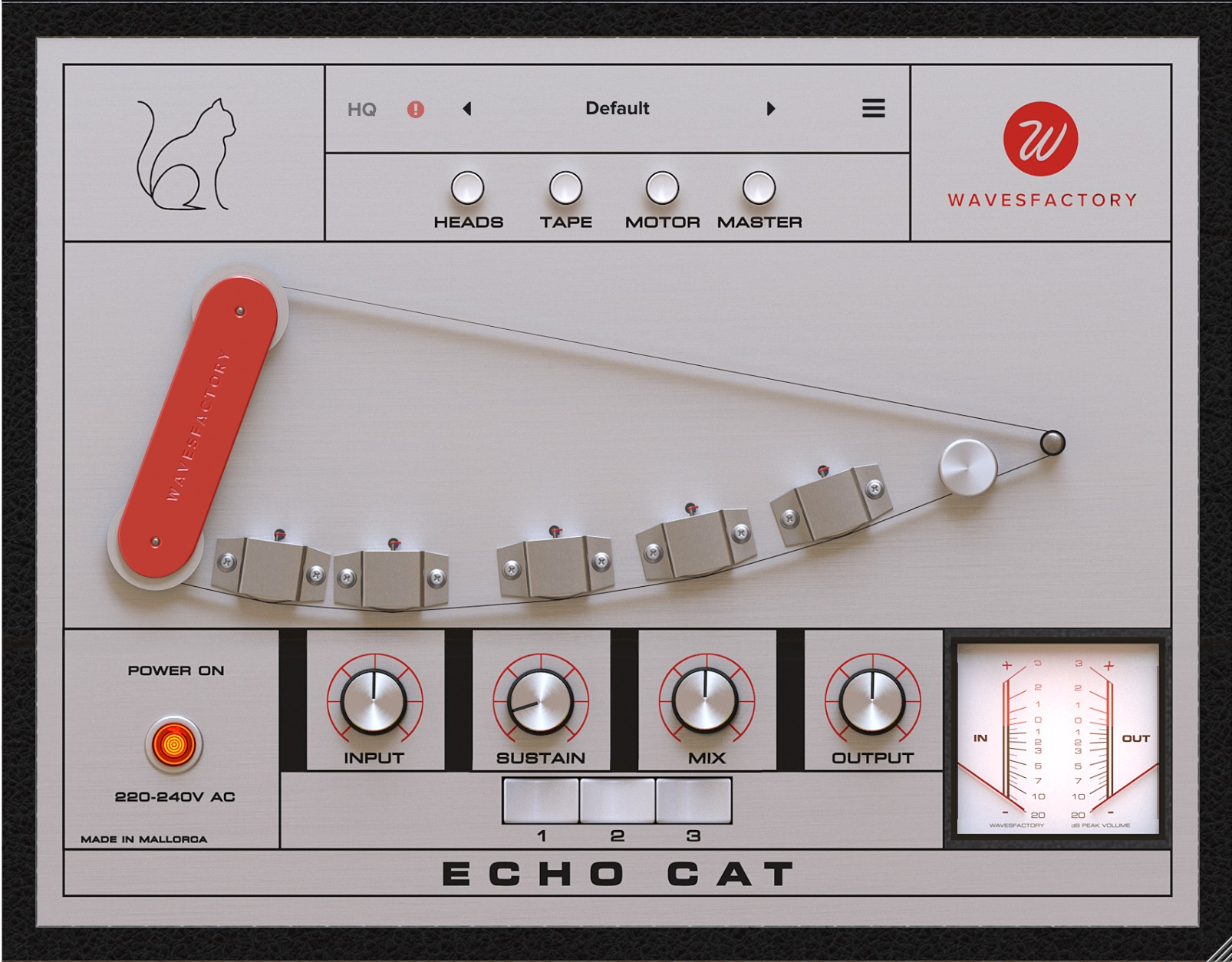 Wavesfactory Echo Cat Preset Sounds