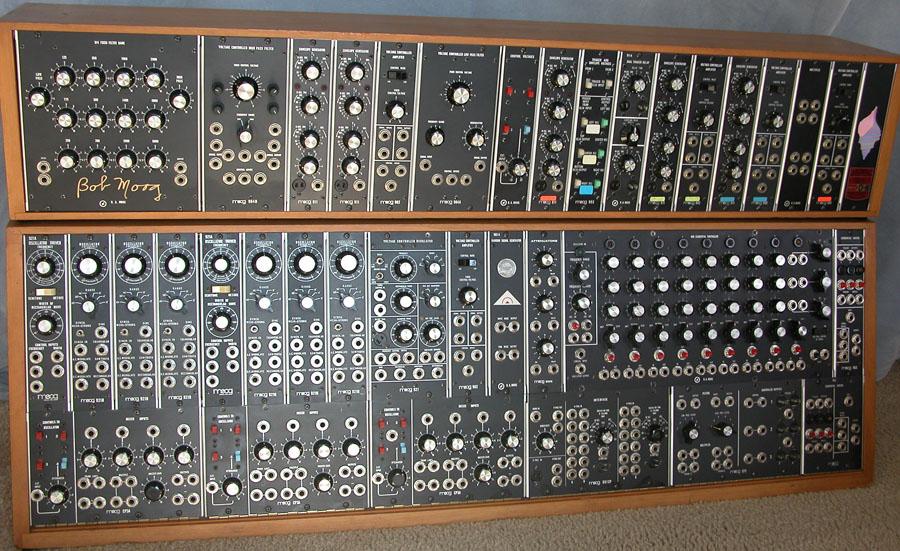 MoogModular55 画像