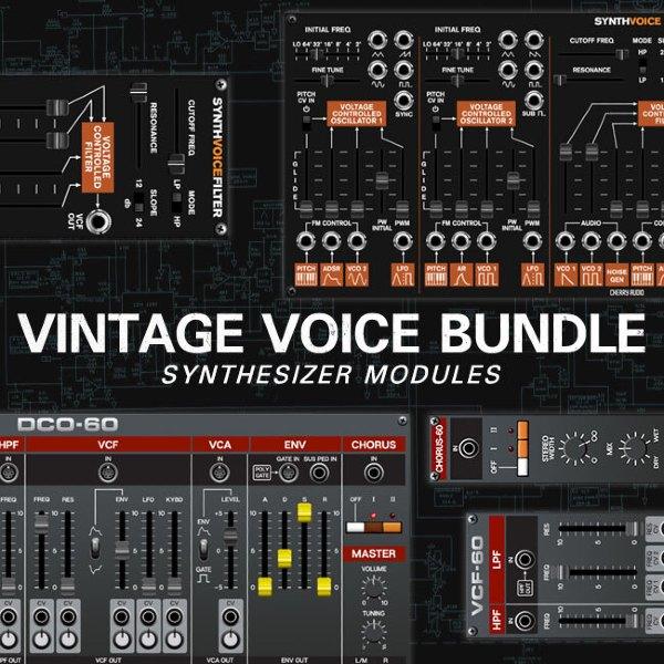VintageVoiceBundle_CherryAudio 画像