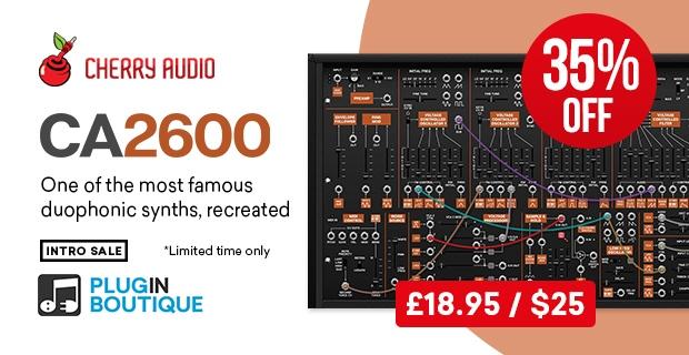 CherryAudio - CA2600_pluginboutique-Sale|画像